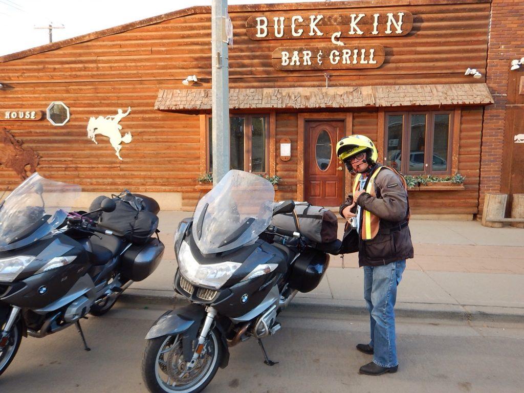 Th Buckhorn Restaurant.. Or is it th bucking Bronco?