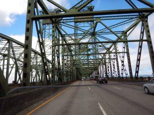 Going to Beaverton had to pass beautiful bridges